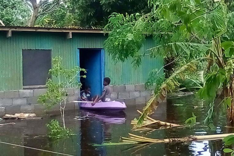La deuxième ville du Vanuatu dévastée par le cyclone Harold