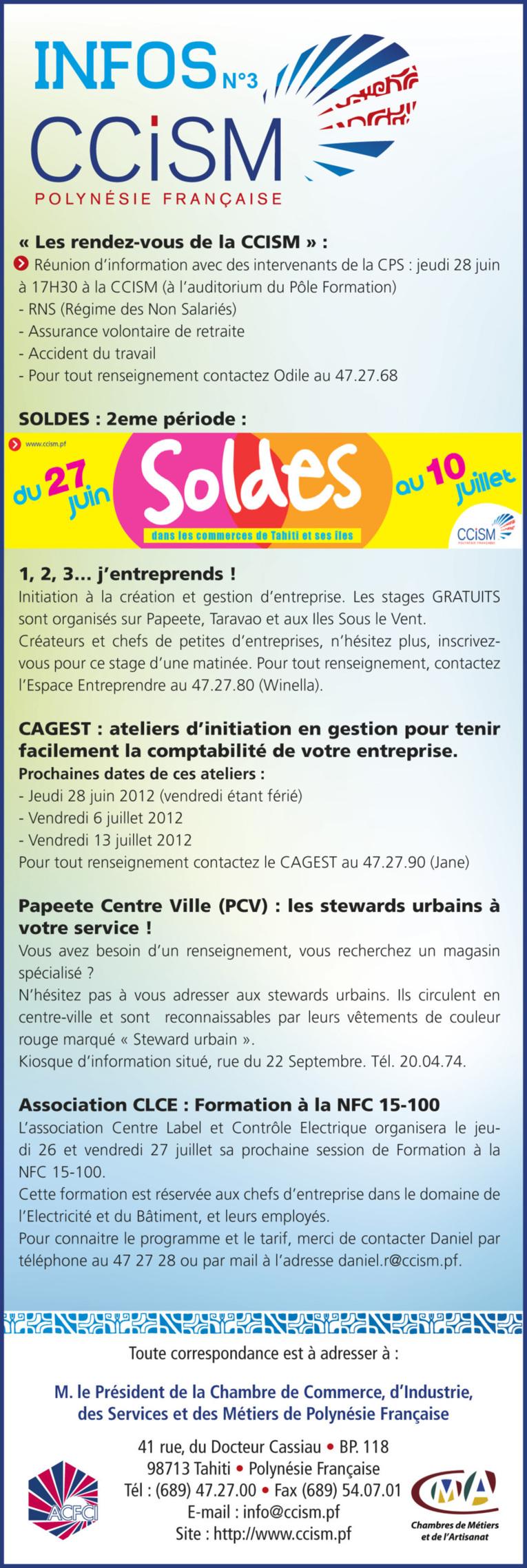Infos CCISM N°3