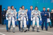 Un équipage spatial s'arrime à l'ISS en pleine pandémie de coronavirus