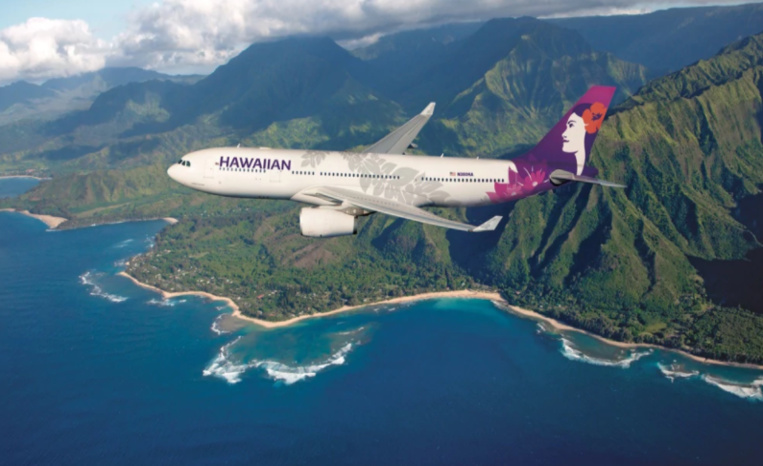 Hawaiian airlines annonce une baisse de 45% de trafic en mars