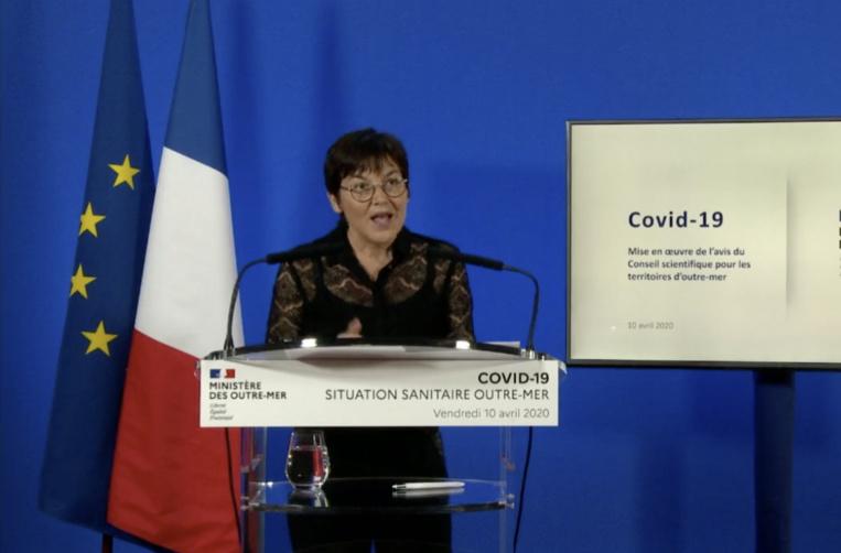 La ministre des outre-mer, Annick Girardin, s'est exprimée au sujet des mesures mises en place outre-mer dans le contexte de crise sanitaire lié au coronavirus.