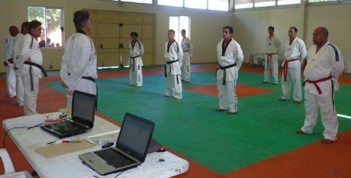 Taekwondo: 2ème Session de passage de grade fédéral 2012