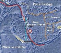 Séisme de magnitude 6,3 au large du Vanuatu, hypocentre profond