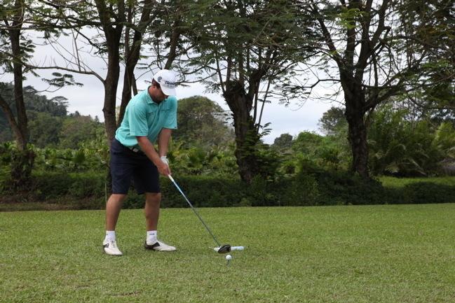 Golf: Ryan FOX (NZ) gagne l'Open devant Terry PILKADARIS (AUS) et Vaita GUILLAUME (Tahiti)