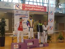 Teddy TENG vice-champion de France universitaire de Taekwondo 2012