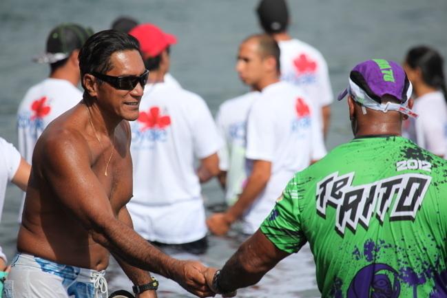 VA'A V1 : TE AITO 2012, Steeve TEIHOTAATA s'impose pour la deuxième fois