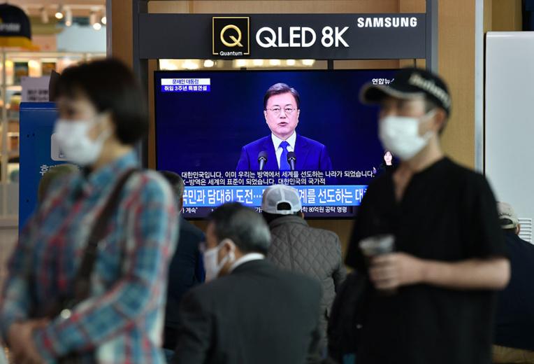 Corée du Sud: plus forte hausse des contaminations depuis un mois
