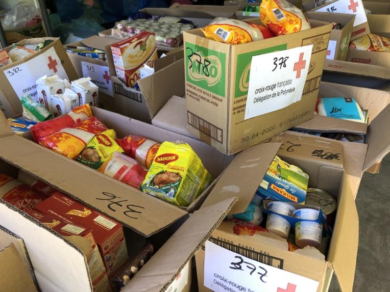 Triste record de distribution de colis alimentaires pour la Croix-Rouge