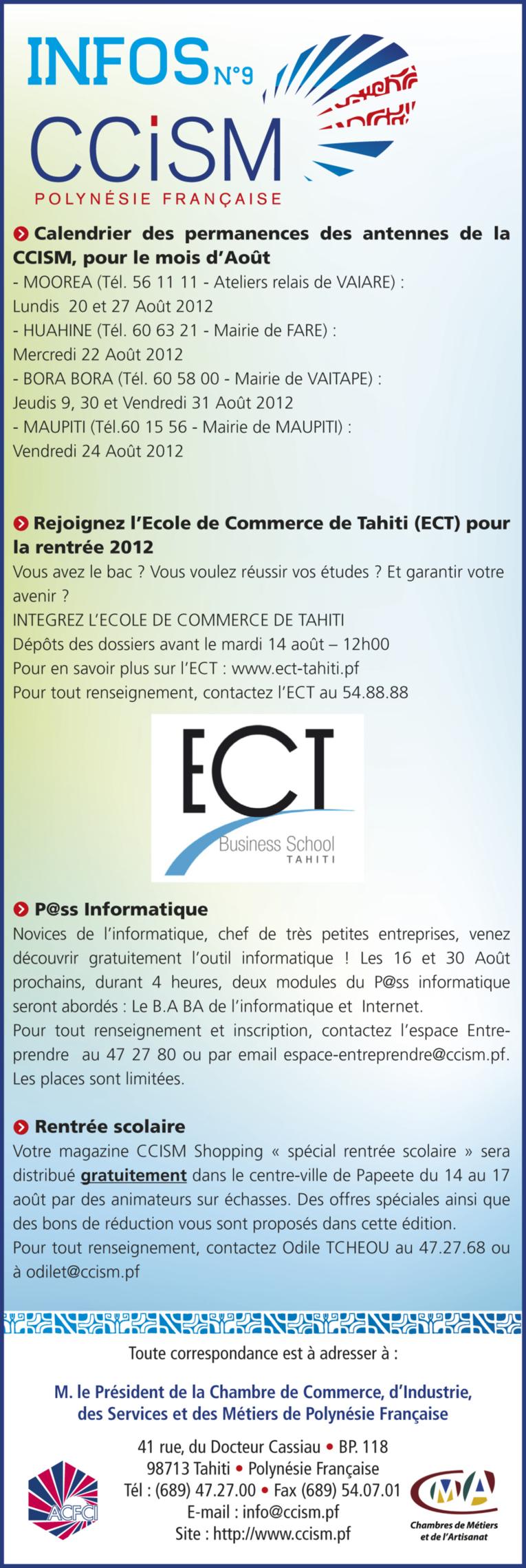 Infos CCISM N°9