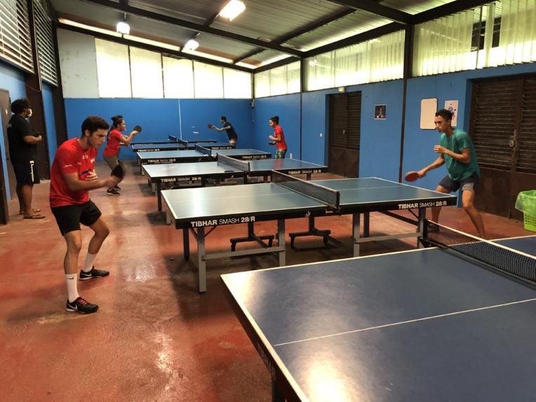 La sélection jeune de tennis de table a pu reprendre ses entraînements dès mercredi à la salle de l'AS Dragon.