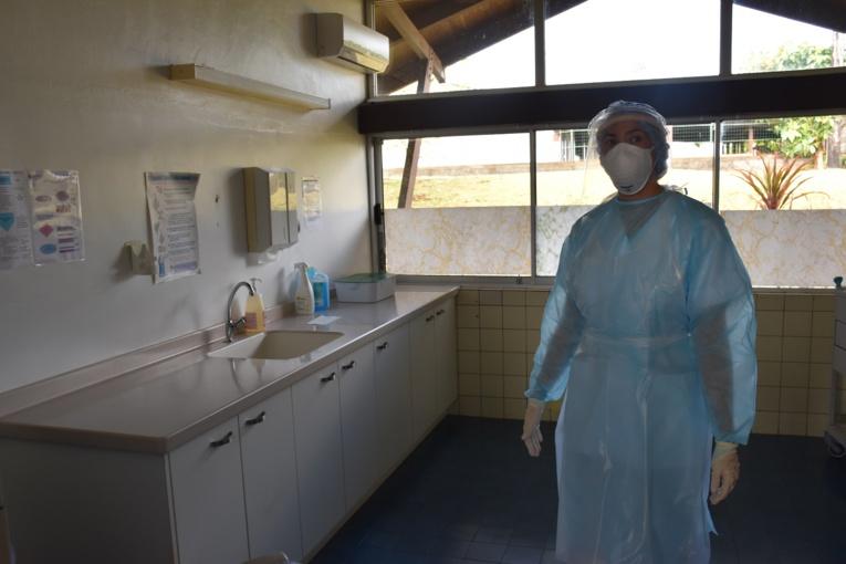 La cellule covid de Taravao a la possibilité de réaliser des tests. 220 tests ont été effectués à Taravao.