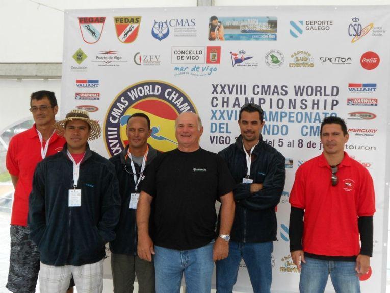 Mondiaux de pêche sous-marine à Vigo en Espagne, Tahiti au 10ème rang mondial