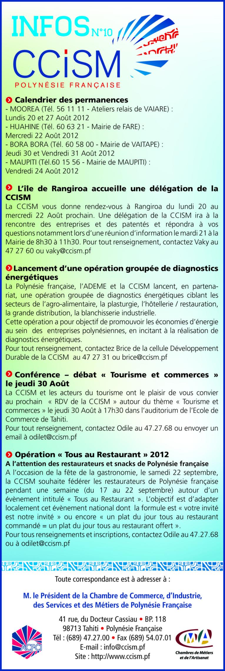 Infos CCISM N°10