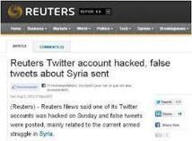 Le site de Reuters piraté pour la deuxième fois en deux semaines