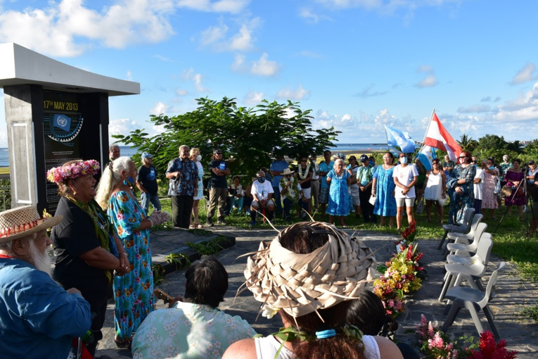 Le Tāvini fête son 17 mai