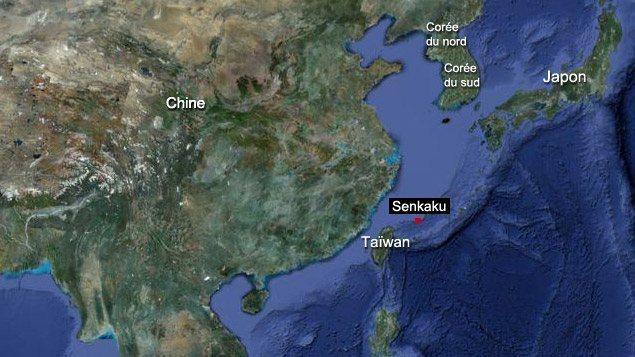 """Taiwan accuse le Japon d'""""occuper sournoisement"""" des iles disputées"""