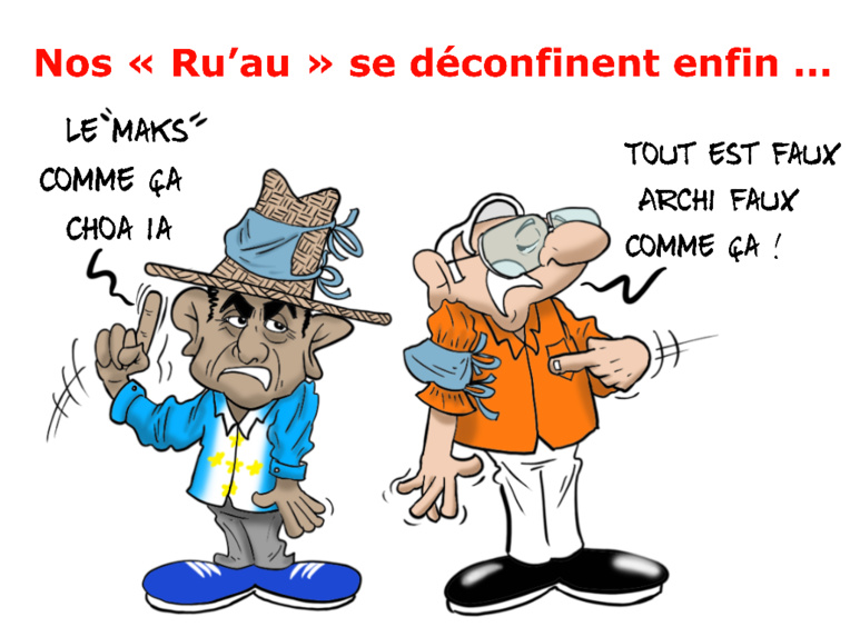 """""""Le déconfinement des rū'au"""", par Munoz"""