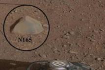 Le robot Curiosity identifie un premier caillou prometteur sur Mars
