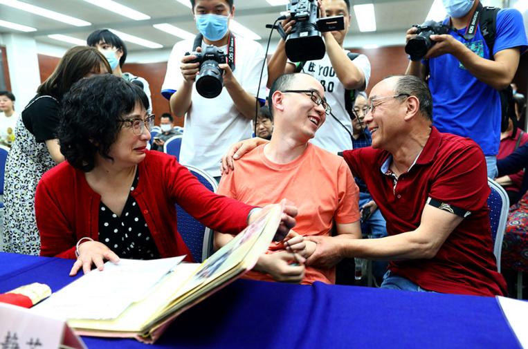 Kidnappé bébé, un Chinois retrouve ses parents après 32 ans