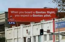 Deux pilotes de Qantas suspendus après une algarade dans le cockpit