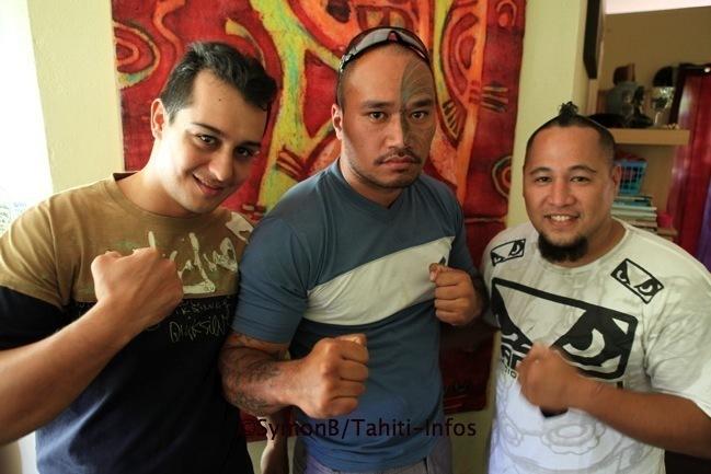 3 tahitiens vont participer pour la première fois aux combats de MMA PRO !
