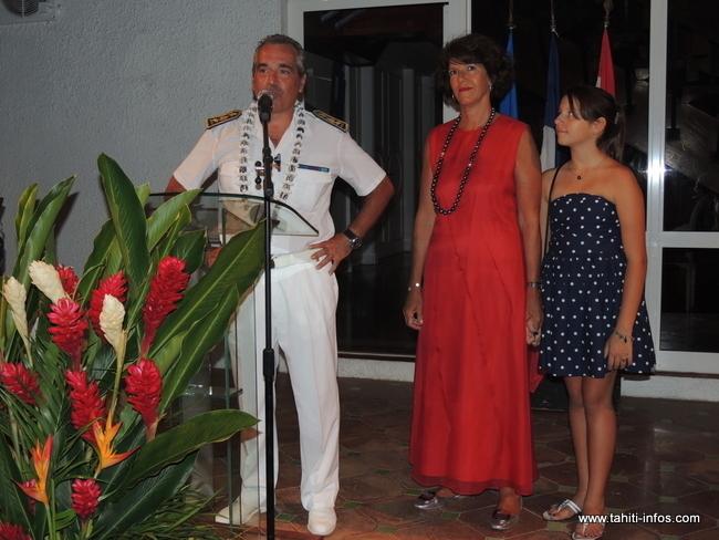 Haut-commissariat: Richard Didier donne une allocution de départ chargée d'émotion
