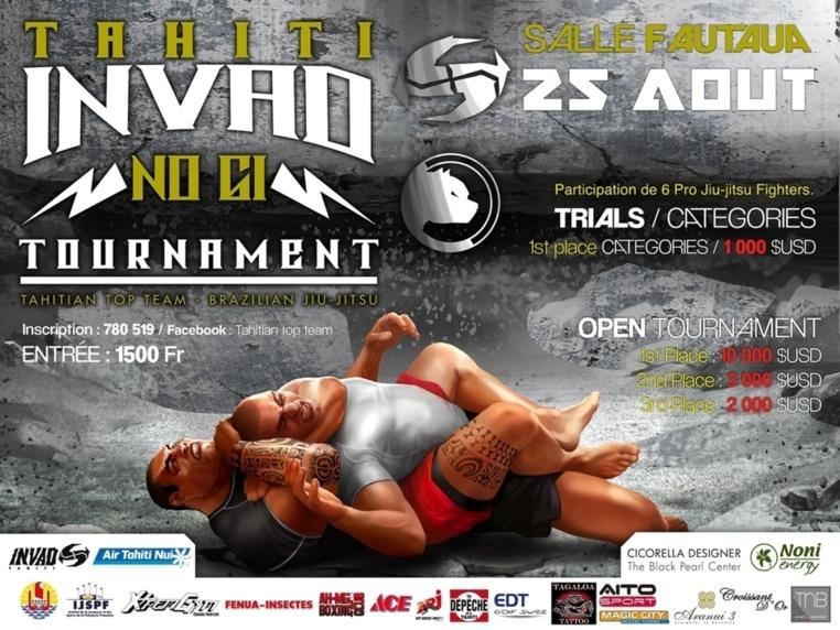 INVAD 2012 : Les stars du Jiu Jitsu sont bien arrivées