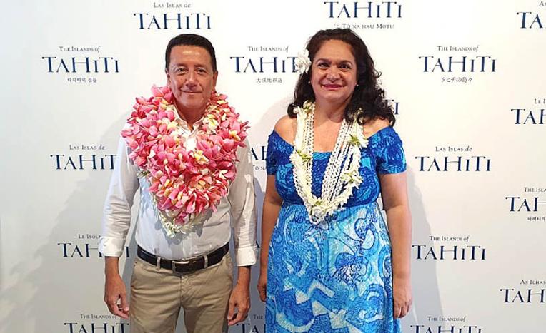 Avant de prendre son poste à Tahiti, Jean-Marc Mocellin était à la tête de l'office du tourisme de la Nouvelle-Calédonie. Depuis sa nomination il a assuré la direction de Tahiti Tourisme en télétravail.