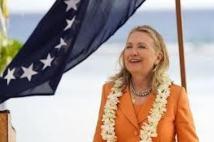 Clinton espère que les Etats-Unis agissent davantage sur le climat