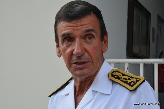 Jean-Pierre Laflaquière, Haut Commissaire de la République en Polynésie française.