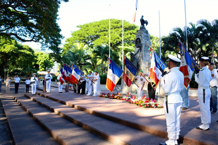 Un hommage rendu aux morts pour la France en Indochine