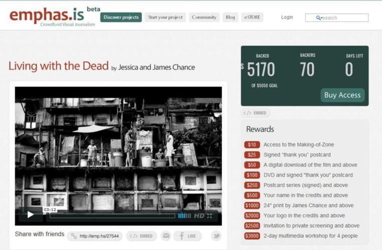 Le mécénat individuel via internet à la rescousse du photojournalisme