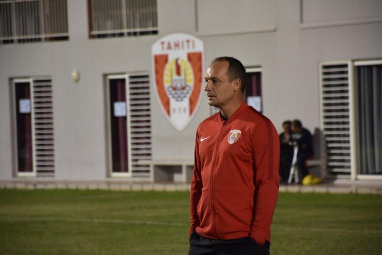 Samuel Garcia, sélectionneur des Toa Aito.