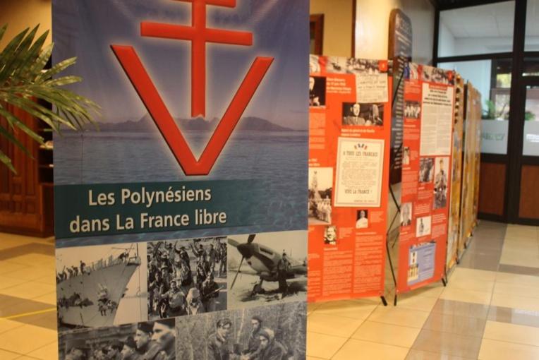 """""""Les Polynésiens dans la France libre"""" exposée au Cesec"""
