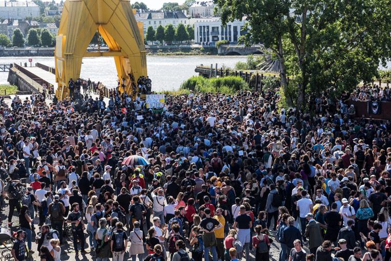 A Nantes, un vibrant hommage à Steve, un an après le drame
