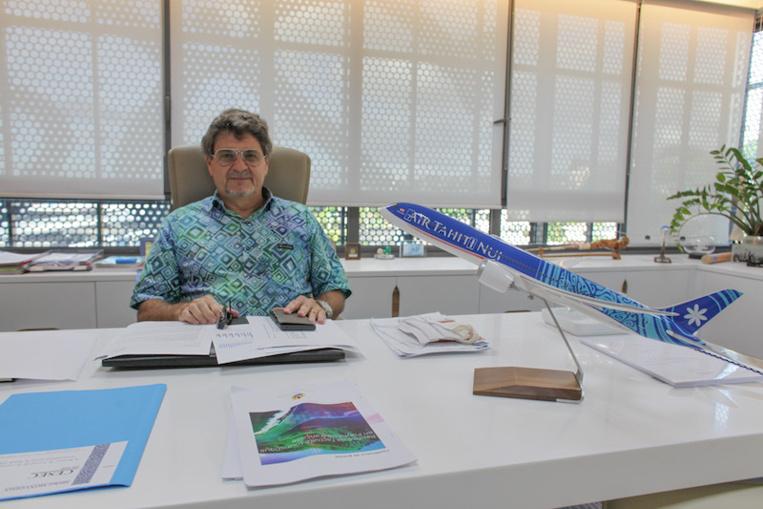 """Air Tahiti Nui : """"L'objectif, c'est d'éviter un plan social"""""""