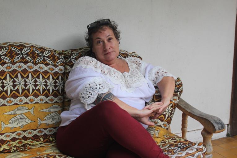 Léonore Caneri, épuisée par ses Insupportables, mais heureuse.