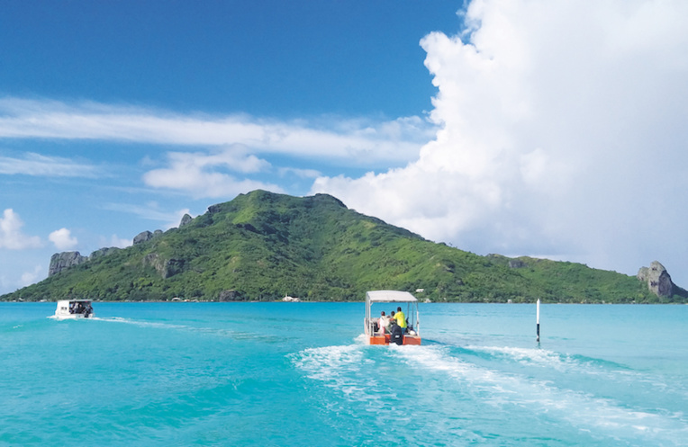 Maupiti privée du tourisme