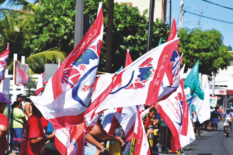 Nena contre l'interdiction des drapeaux