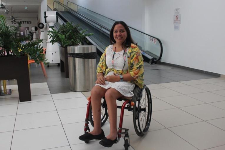 """Rowena Nouveau : """"Handicapée, mais tellement plus encore"""""""
