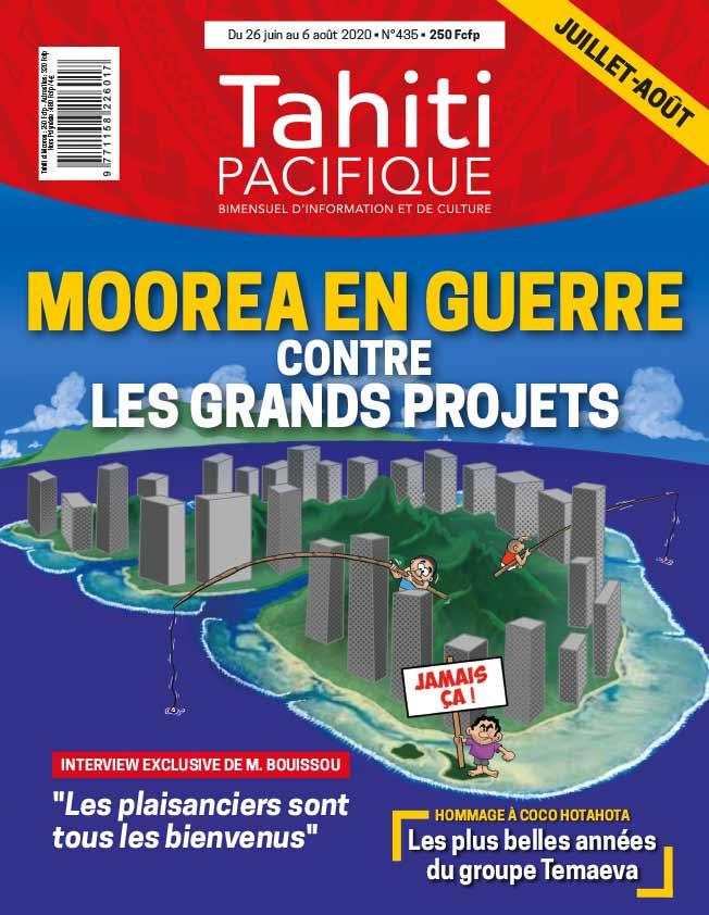 À la UNE de Tahiti Pacifique vendredi 26 juin 2020