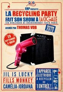 Concerts gratuits à la Cigale contre sèche-cheveux ou ordinateurs usagés