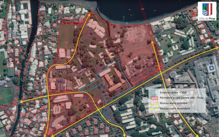 L'ex-terrain du Comsup cédé à Pirae