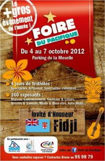 affiche et programme de la Foire du Pacifique 2012-10-03