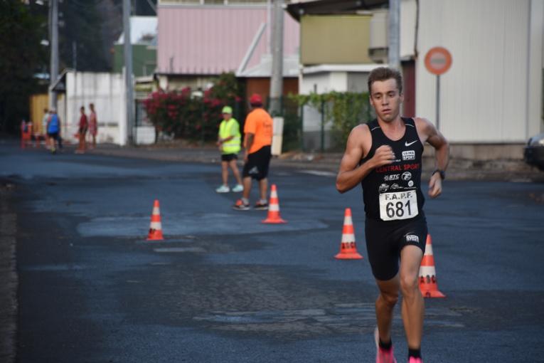 Très facile dans la première moitié de la course, Zorgnotti a ensuite accusé le coup physiquement dans la deuxième partie de course.