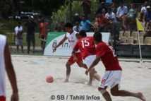 Beach soccer, Tiki Toa vs Suisse : Dernier match perdu mais bilan positif.