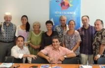 Organisateurs et partenaires de la Fête de la Science.