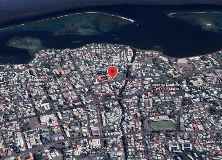 Un projet de centre aquatique à Papeete