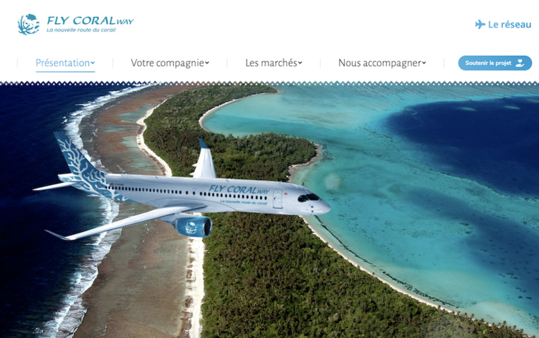 Fly Coral Way précise son projet