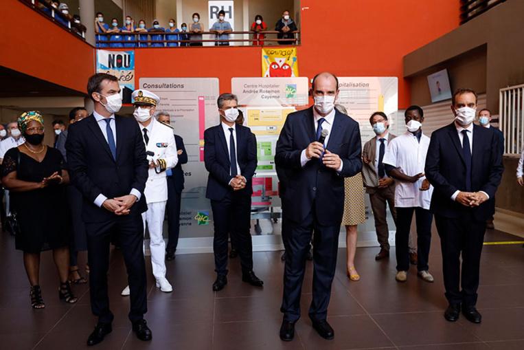 """Coronavirus: Castex défend l'action de l'Etat en Guyane et appelle à la """"vigilance"""" toute la France"""
